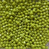 50 St. Glasschliffperlen 3 mm-opak lime green