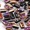 10 Gramm - Rulla beads - jet sliperit